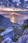 Dvanáct apoštolů v kapském městě, jižní afrika — Stock fotografie