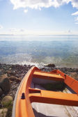 Boat and sea — Stock Photo