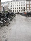 велосипеды - объектив и размытым движения — Стоковое фото