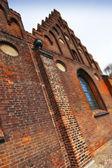 Old church wall — Stock Photo