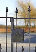 Iron gate — Stock Photo