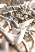 Vélos de lentille floue — Photo
