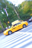 Taxi in New York — Stock Photo