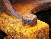 生锈的铁 — 图库照片