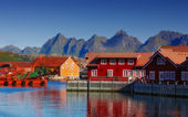 Lofoten - Norway — Stockfoto