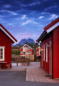 At the harbor - Lofoten, Norway — Stock Photo