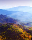 Lever du soleil montagne — Photo