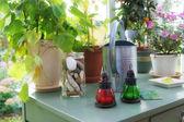 Garden table indoor — Stock Photo