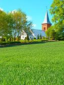 Danish church — Stock Photo