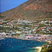 Simons Town in South Africa — Stock Photo