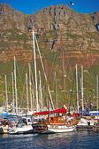 łodzie żaglowe — Zdjęcie stockowe