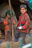 Documentary: Child living in the streets of New Delhi — Stock Photo