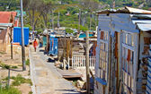 Documentary: Poor African township — Stock Photo