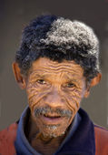 Old pygmy (South Africa) — Stock Photo