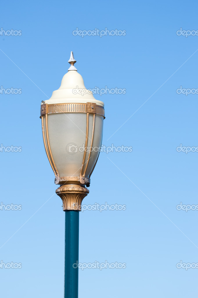 Beautiful street lamp at Fisherman's Wharf in San Francisco  Stock Photo #6543929