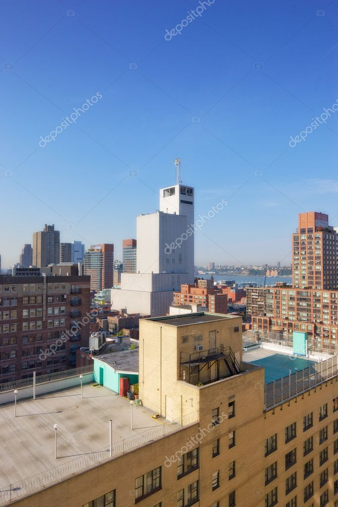 New York - on an early misty morning — Stock Photo #6547039