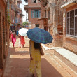 Editorial: Everyday life in Kathmandu, Nepal — Stock Photo