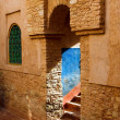 Harmonious Arab architecture — Stock Photo