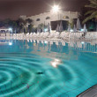 Photo of huge swimming pool at night — Stock Photo #6551903