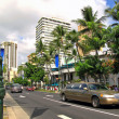 Street life in Honolulu — Stock Photo #6551936