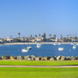 San Diego waterfront — Stock Photo