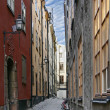 Photo of the old town of Stockholm — Stock Photo