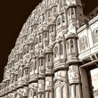 Stock Photo: Palace with harem in Japipur, India