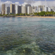 Waikiki Beach (Honolulu) - Stock Photo