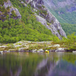 Mountains in Norway — Foto Stock