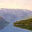 A landscape photo from Norway — Stock Photo