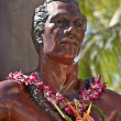 The Duke - founder of surfing in Hawaii - Stock Photo