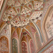 Ceiling in Amber Fort, muslim palace, Jaipur, India — Stock Photo #6558695