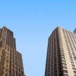 A photo of skyscrapers in New York, Manhattan - Stock Photo