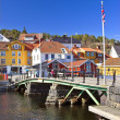 Harbor in Krageoe, Norway — Stock Photo
