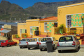 Colorful Muslim quarter in Cape Town — Stock Photo