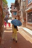Editorial: Everyday life in Kathmandu, Nepal — Stock Photo