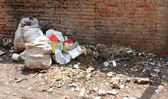 Editorial: Filth in the streets of Kathmandu, Nepal — Stock Photo
