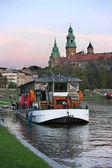 Krakow gece — Stok fotoğraf