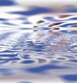 Blue ripples — Стоковое фото