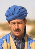 Portrait of male muslim — Stock Photo