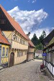 Old Danish houses — Stock Photo