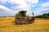 Small harvester — Stock Photo