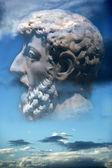 Ancient philosopher — Stock Photo