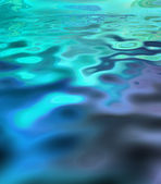 Rippled blue background — Stock Photo