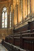 Church at Cambridge University, England — Stock Photo