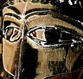 Afrikanische maske — Stockfoto