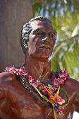 The Duke - founder of surfing in Hawaii — Stock Photo
