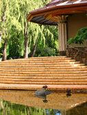 Ogród pałac — Zdjęcie stockowe