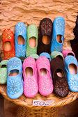 Arab shoes — Stock Photo