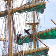 Stock Photo: Tall sailing ship